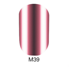 Gel Polish Metallic Collection M39 6 мл