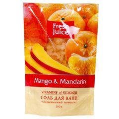 Bath Salt Doypack Mango and Mandarin 200мл