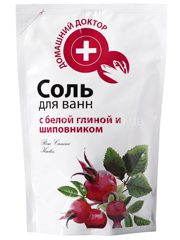 Salt with White Clay and Rosehip doypack 500г