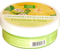 Sugar Body Scrub Carambola and  Noni 225 мл