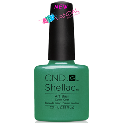 Shellac Art Basil 7,3 мл
