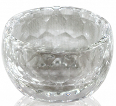 Transparent Glass Cup without Cap for Fluid 30 мл