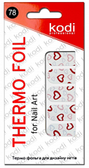 Thermo Foil For Nail Art №78