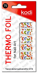 Thermo foil for nail art №75