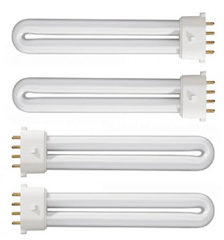 UV Replacement Bulbs 4x9 W
