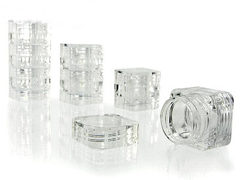 Clear Plastic Jar Kit 12 in 1