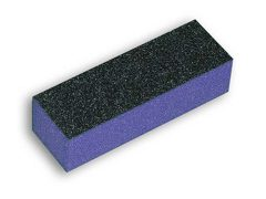 Block Buffer Purple in Black 60/100 грит