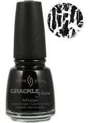 Cracked Black Mesh Black 14мл