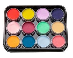 Colored Acrylics Kit L1 12 шт
