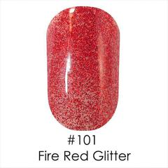 Gel Polish №101 Red Glitter 6 мл