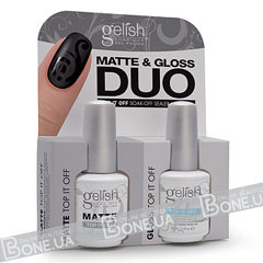 Gelish Matte & Gloss DUO
