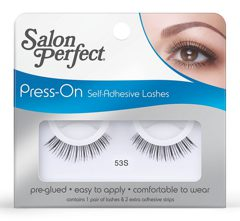 SP Press On Self Adhesive Lash №53