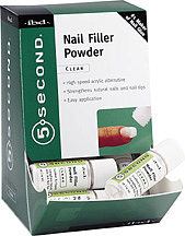 Clear Nail Filler Powder 4 г.