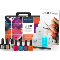 Shellac Trendy Collection Trial Pack