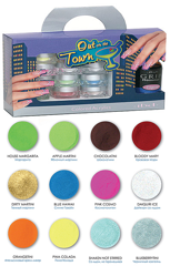 Out on the Town Colored Acrylics Kit (without monomer)