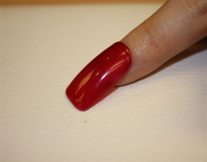 OPI Axxium Soak-Off OPI Red