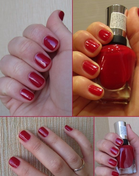 Лак Sally Hansen Salon №575 Red Handed
