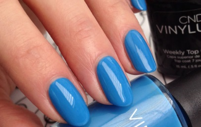 CND Vinylux Reflecting Pool Garden Muse Collection 2015
