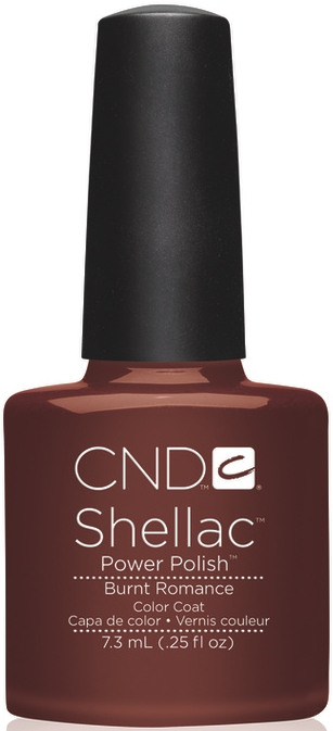 гель лак Shellac Burnt Romance