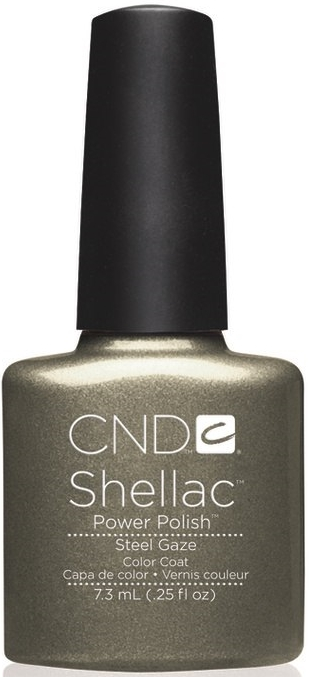 гель лак Shellac Steel Gaze