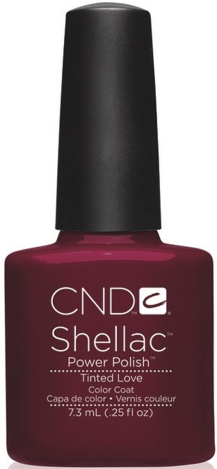 гель лак Shellac Tinted Love