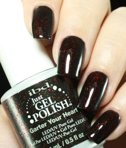 Just Gel Polish Garter Your Heart