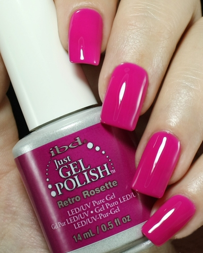 Just Gel Polish Retro Rosette