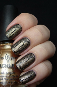 лак China Glaze Tarnished Gold