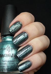 лак China Glaze Oxidized Aqua