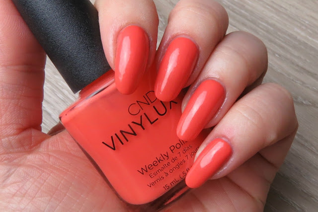 Vinylux Desert Poppy CND Flirtation 2016 Collection