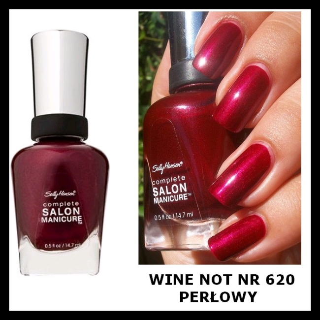 Лак Sally Hansen Salon №620 Wine Not