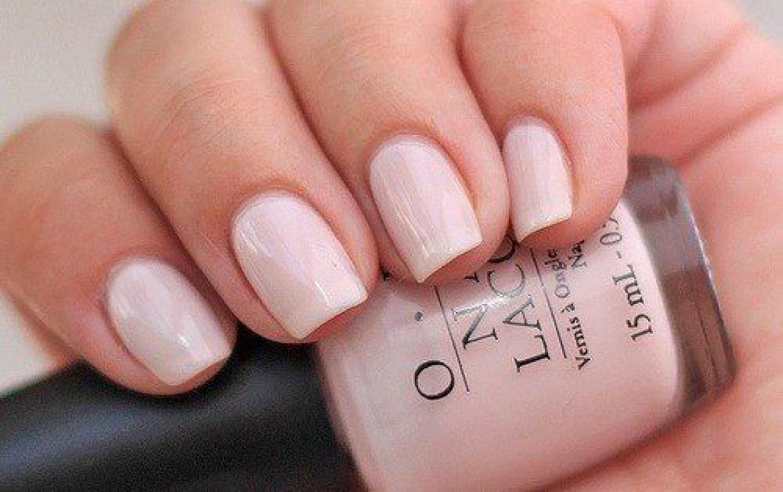 Light Pink Short Coffin Nails