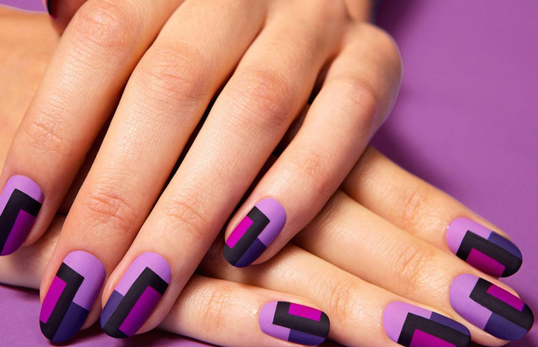 дизайн ногтей 2016 фото фиолетовый новинки
