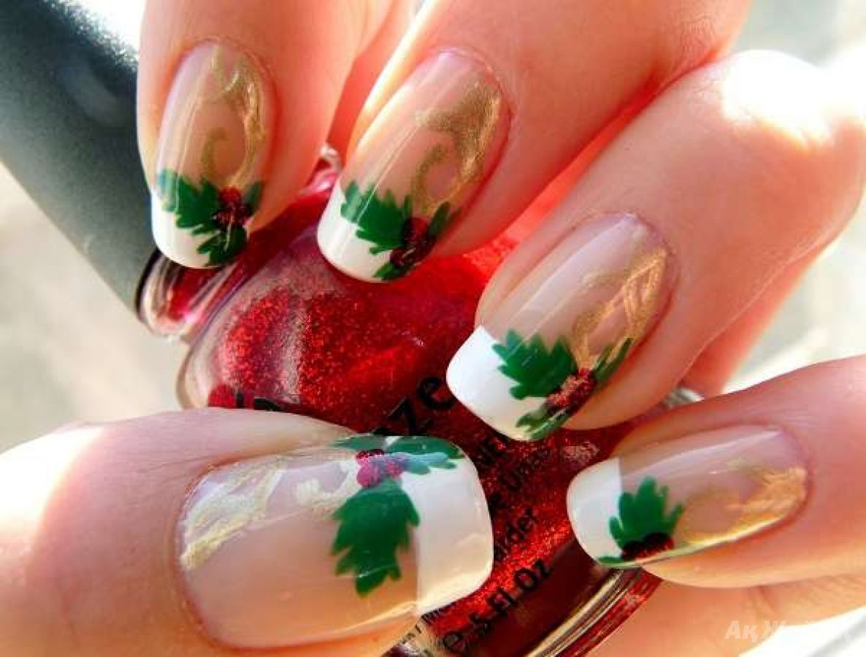 Фото мастер класса новогодний дизайн ногтей