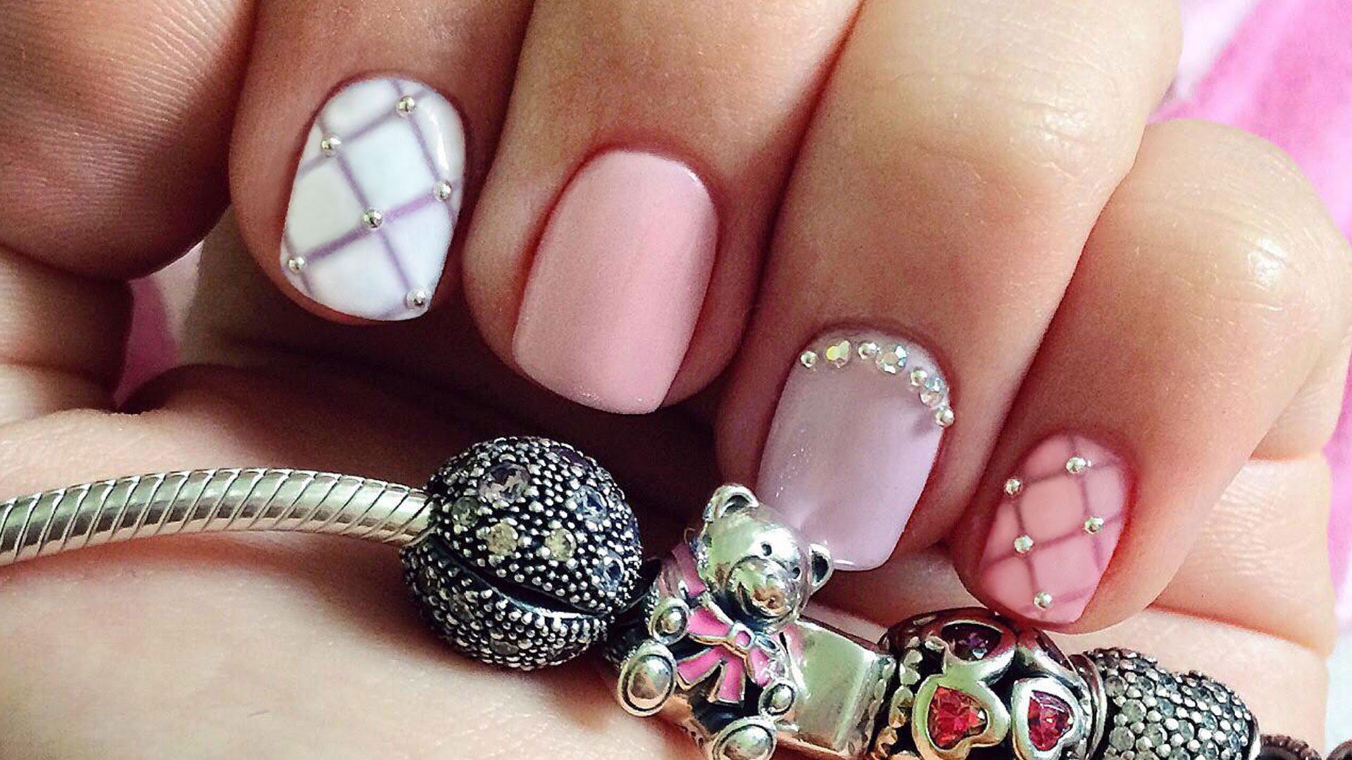 фото дизайн лаком ногтей
